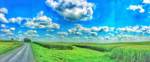 Iowa Art Print featuring the photograph Path Less Traveled by Jame Hayes