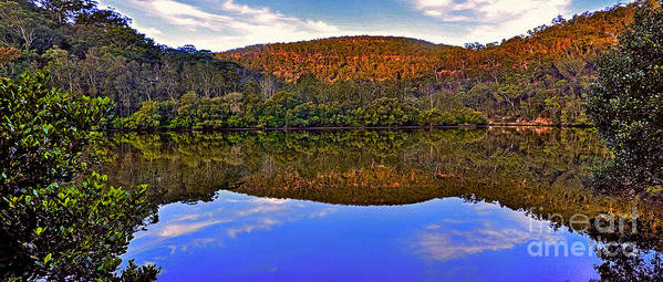 Photography Art Print featuring the photograph Valley Of Peace by Kaye Menner