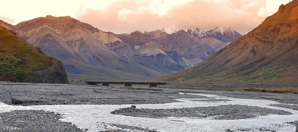Alaska Art Print featuring the photograph Savage River by Jim Cook