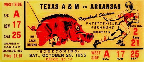 Arkansas Print featuring the photograph The Old Southwest Conference by Benjamin Yeager