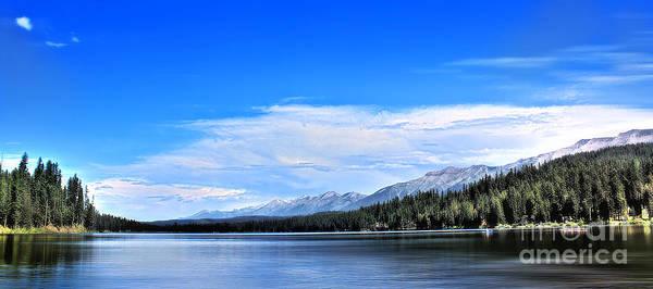 Montana Landscape Art Print featuring the photograph Lake Alva by Janie Johnson