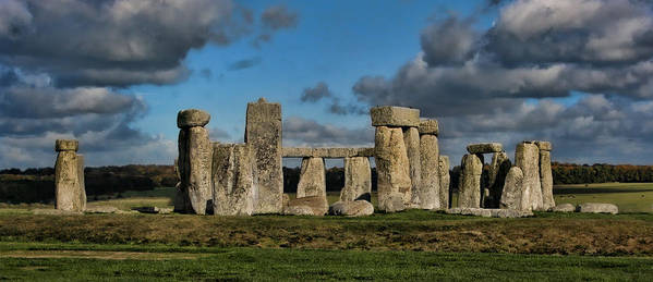 Stonehenge Print featuring the photograph Stonehenge by Heather Applegate