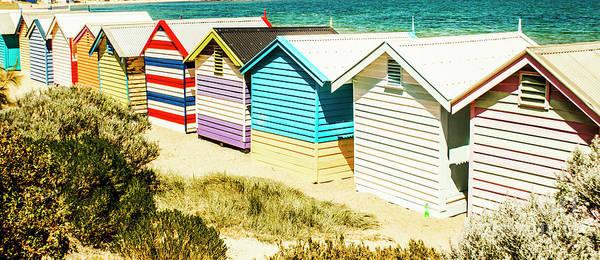 Australia Art Print featuring the photograph Brighton Beach, Melbourne by Jorgo Photography - Wall Art Gallery