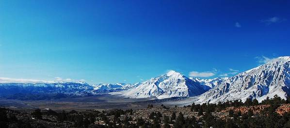 Mountains Art Print featuring the photograph Panorama by Jessica Roth