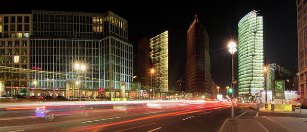 Berlin Print featuring the photograph Potsdamer Place by Marc Huebner