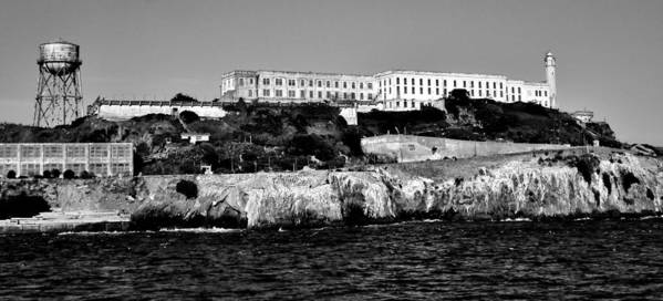 Alcatraz Art Print featuring the photograph Alcatraz Federal Prison by Benjamin Yeager