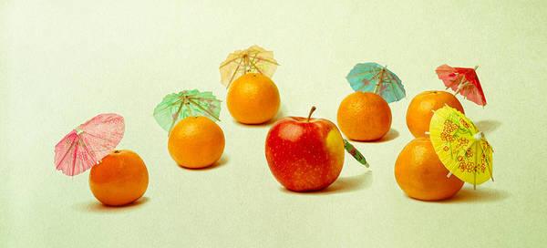 Apple Art Print featuring the photograph Exotic Fruit by Alexander Senin