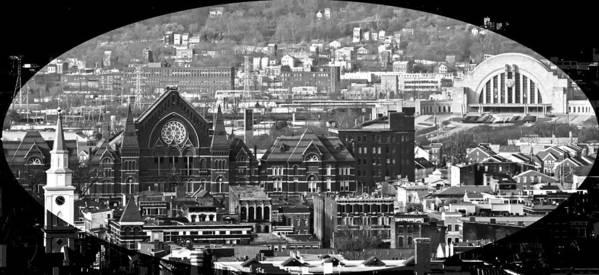 Music Hall Art Print featuring the photograph Cincinnati Music Hall Cincinnati Museum by Randall Branham