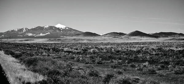 Landscape Art Print featuring the photograph San Francisco Peaks by Gilbert Artiaga