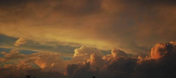 Sunset Art Print featuring the photograph Reflection Of The Setting Sun by Eva Ramanuskas