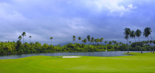 Golf Art Print featuring the photograph Golfer's Paradise by Stephen Anderson