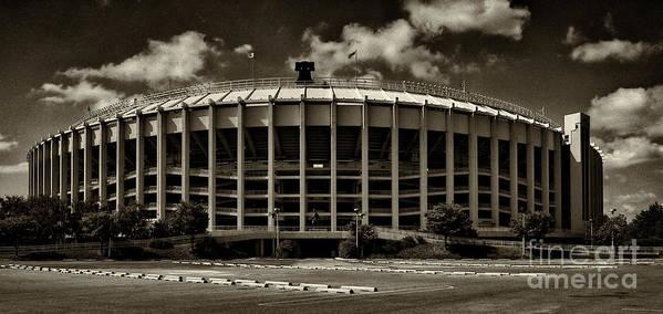 Veterans Stadium Art Print featuring the photograph Veterans Stadium 1 by Jack Paolini