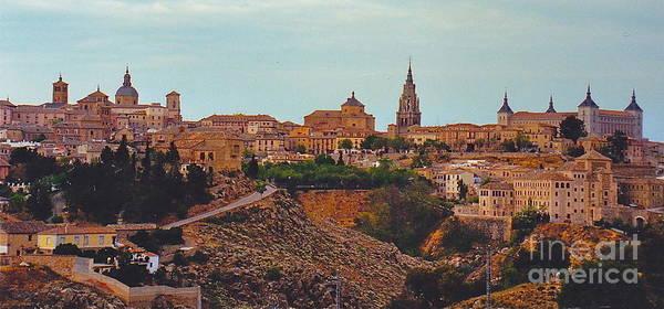 Toledo Art Print featuring the photograph Ancient Spanish City by Barbara Plattenburg