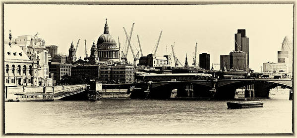 Landscapes Art Print featuring the photograph London From The Southbank by David Resnikoff