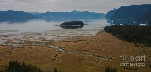 Frederick Sound Art Print featuring the photograph Wild Alaska Coast by Mike Reid