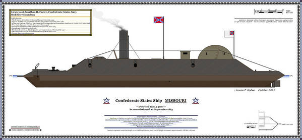 Navy Art Print Featuring The Digital Css Missouri Color Profile By Saxon Bisbee