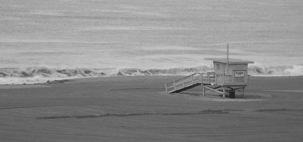 Beaches Art Print featuring the photograph Life Guard Stand by Shari Chavira