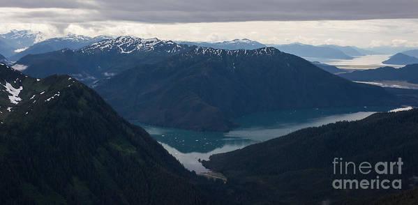 Frederick Sound Art Print featuring the photograph Alaska Coastal Serenity by Mike Reid
