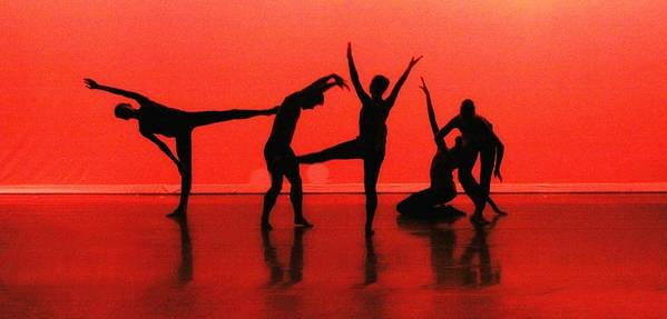 Dance Art Print featuring the photograph Dancing In Red by Kenneth Mucke
