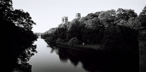 Inspiration Art Print featuring the photograph Durham Cathedral by Shaun Higson