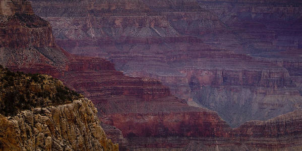 National Park Print featuring the photograph Grand Canyon Ridges by Andrew Soundarajan