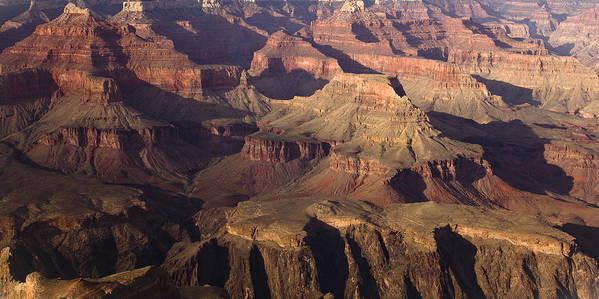 National Park Art Print featuring the photograph The Rugged Grand Canyon by Andrew Soundarajan