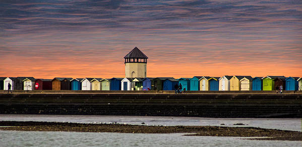Beach Art Print featuring the photograph Brightlingsea Essex by Martin Newman