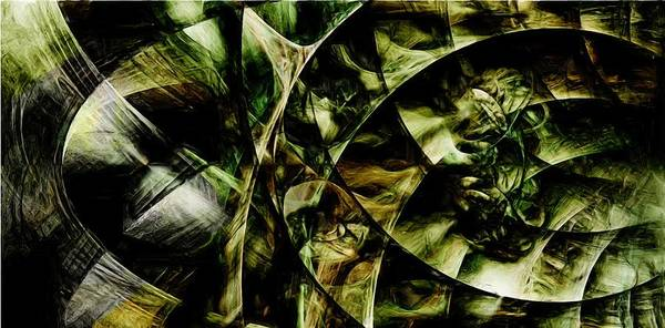 Nautilus Art Print featuring the digital art Chambers by Jeffrey Bland