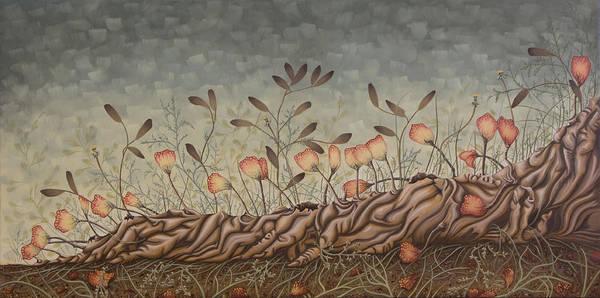 Sex Art Print featuring the painting Little Gods by Judy Henninger