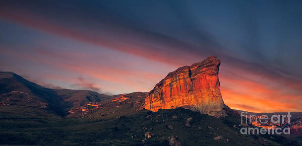Cliff Art Print featuring the photograph Clarens Golden Gate National Park by Mitchell Krog