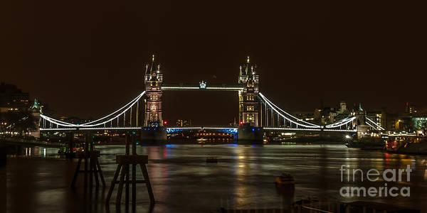 London Art Print featuring the photograph Tower Bridge by Jorgen Norgaard