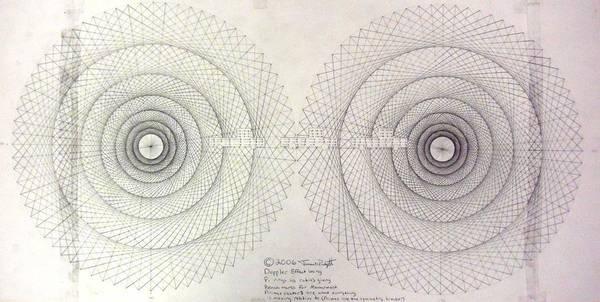 Jason Art Print featuring the drawing Relativity by Jason Padgett