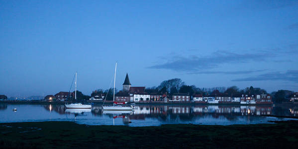 Art Print featuring the photograph Bosham Early Morning by Martin Hesketh