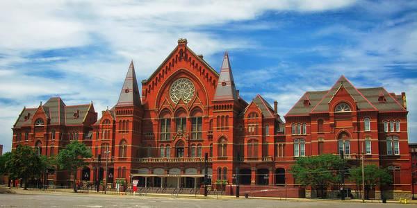 Cincinnati Art Print featuring the photograph Cincinnati Music Hall by Mountain Dreams