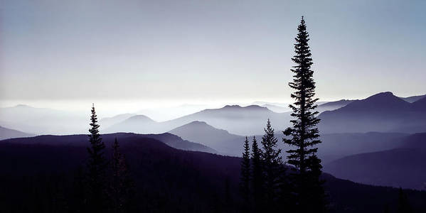 3scape Photos Art Print featuring the photograph Colorado Haze by Adam Romanowicz