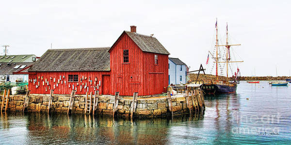 Motif #1 Art Print featuring the photograph Motif Number 1 Rockport Ma by Jack Schultz