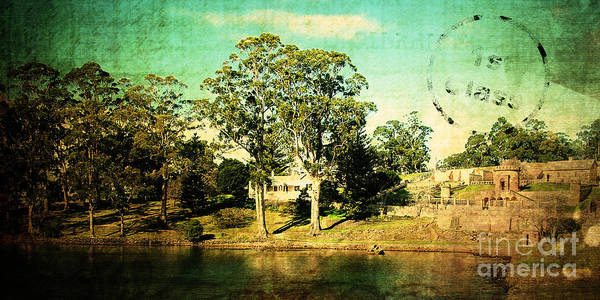 Vintage Art Print featuring the photograph Old Water by Phill Petrovic