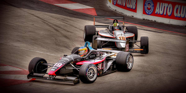 Indy Car Art Print featuring the photograph Lbgp by Craig Incardone