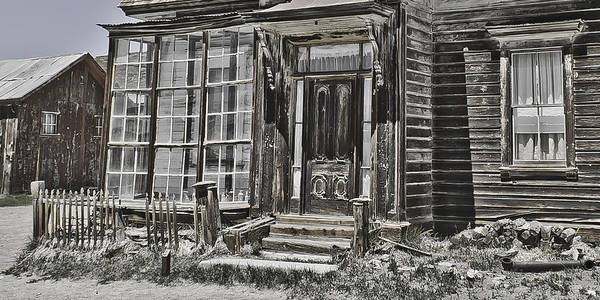 Bodie Art Print featuring the photograph House Of Windows by Richard Balison