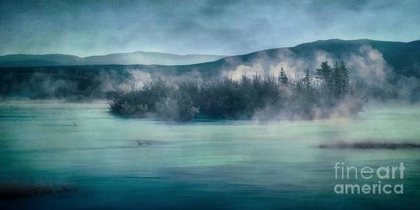 Yukon River Art Print featuring the photograph River Song by Priska Wettstein