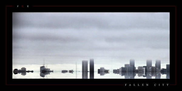 Atlanta Art Print featuring the photograph Fallen City by Jonathan Ellis Keys