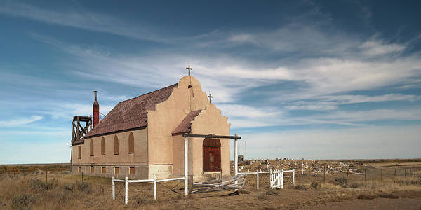 Church Art Print featuring the photograph Montana Church by Grant Groberg