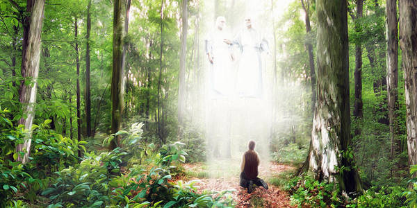 Pillar of Light by Brent Borup
