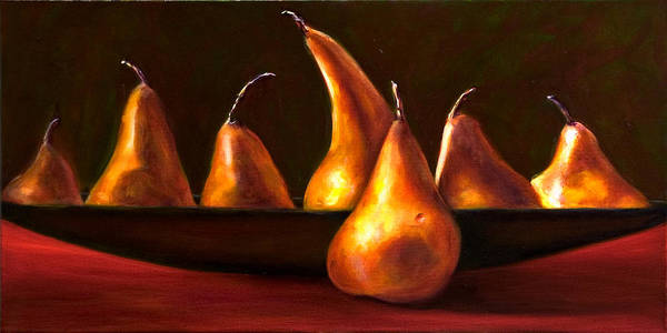 Still Life Art Print featuring the painting Port Au Pear by Shannon Grissom