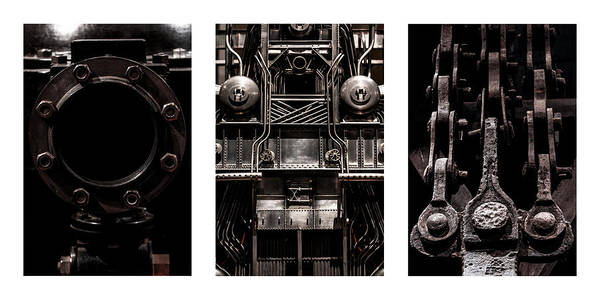 Industry Art Print featuring the photograph The Color Of Industry by Joshua Ball