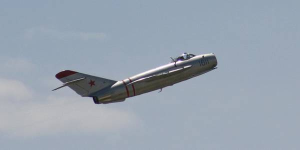 Airplane Art Print featuring the photograph Wafb 09 Mig 17 Russian 4 by David Dunham
