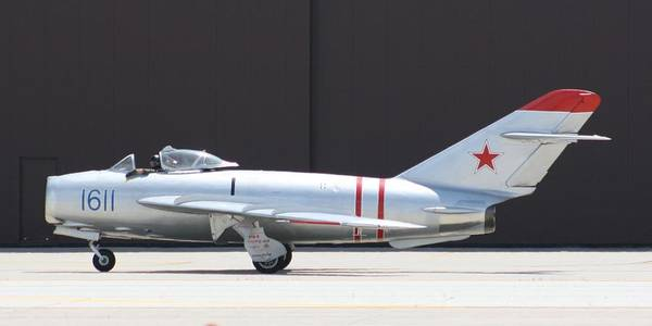 Airplane Art Print featuring the photograph Wafb 09 Mig 17 Russian by David Dunham