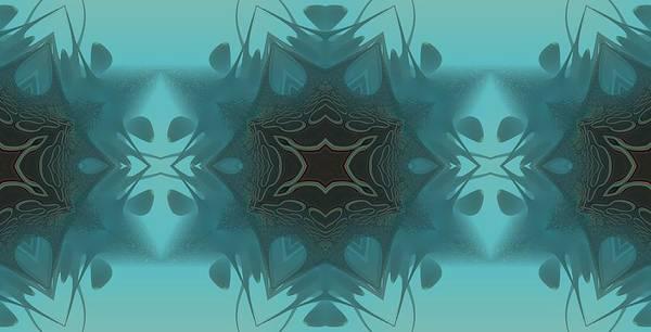 Kaleidoscope Art Print featuring the digital art An Addictive Pattern by Ricky Jarnagin