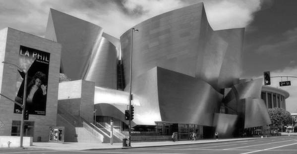 Cityscape Art Print featuring the photograph Disney Hall by Jim McCullaugh