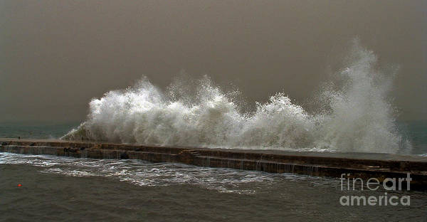 Wave Art Print featuring the photograph The Wave by Mary Attard